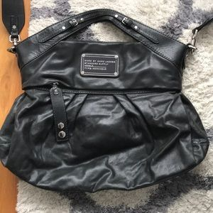 Marc by Marc Jacobs black leather bag